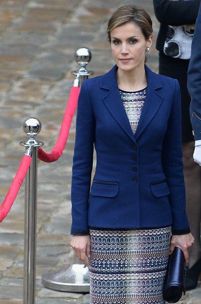 Queen Letizia of Spain Photos - Spanish Royals Depart to France - Zimbio