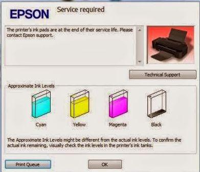 Resetter Epson Stylus Office T1100- Printer Epson Stylus Office T1100 looks…