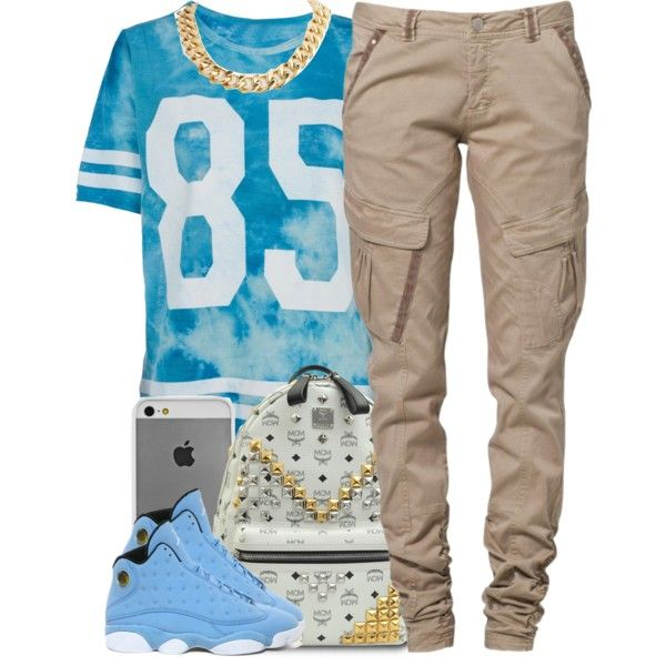 A fashion look from July 2014 featuring tie dye t shirts, cargo trousers and backpacks bags. Browse and shop related looks.