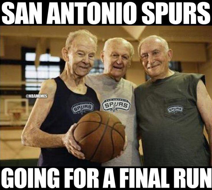 RT @NBAMemes: San Antonio Spurs right now...#NBAPlayoffs…