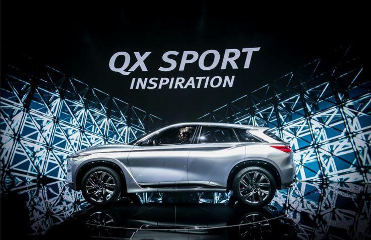 Infiniti QX Sport 2017 Design Review