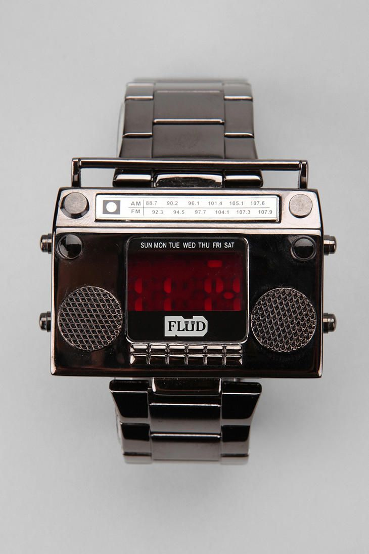 Boombox timepiece. #urbanoutfitters