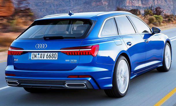 Audi A6 Avant 2018 Kofferraumvolumen Hybrid Autozeitung De Audi A6 Audi Audi S6 Avant