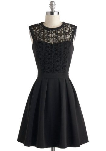 Starlit Statement Dress, #ModCloth, $97.99