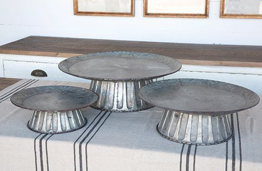 Cake Stands | Galvanized Metal Cake Stand | Wedding Cake Stands