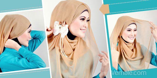 Tutorial jilbab segi empat praktis untuk tampil cantik pada acara-acara spesial. Yuk lihat caranya, hijabers.