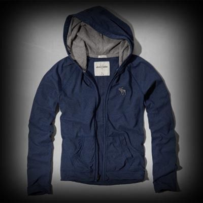 abercrombie メンズ Tシャツ  アバクロ full zip hoodie tee パーカー★アバクロ 銀座店で販売されていない海外限定品!アメカジの代表格なブランドabercrombie。 ★ダメージ感が強く古着っぽさな味がでて薄手素材なので気軽にコーディネイトできます。