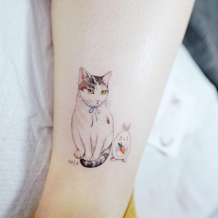 Tattoo On The Foot Ankle Or Calf The Best Ideas For Women Mit