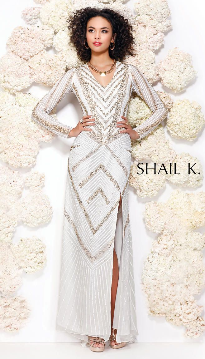 Shail k long dresses simple