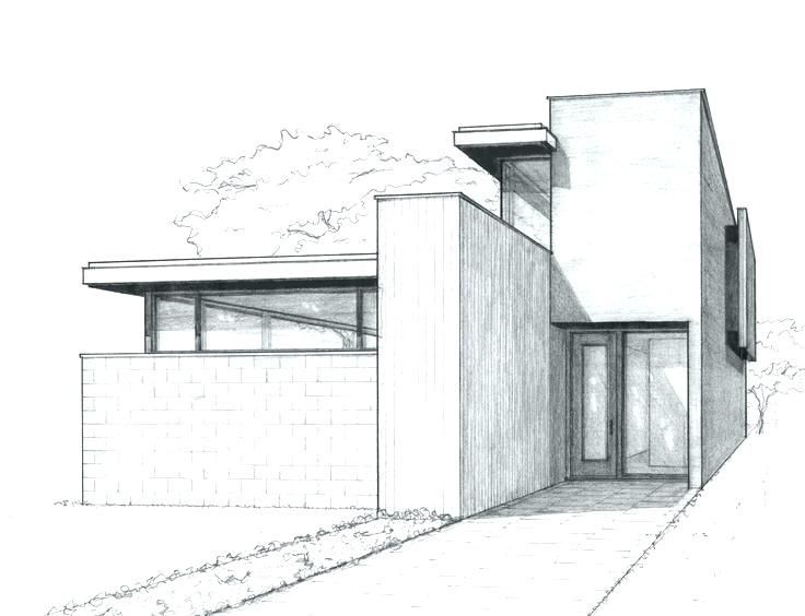 Icymi House Sketch Easy Buildings Sketch Architecture House