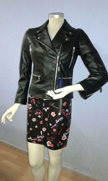 Giacche corte - chiodo donna vera pelle - un prodotto unico di Smallville2 su DaWanda