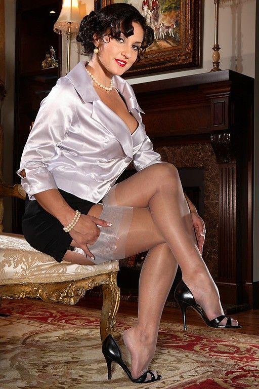 Polliana sheer white lingerie