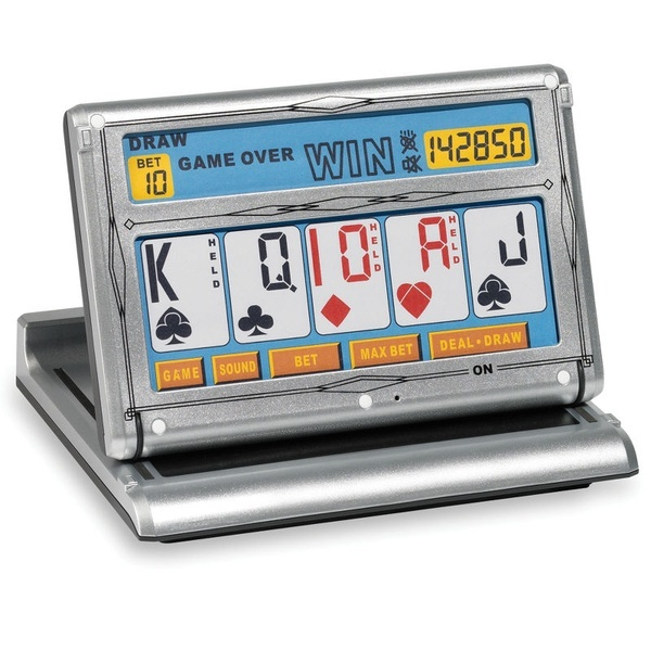 The Touchscreen Video Poker Game. for Dad.