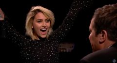 """Paris Jackson Plays """"Egg Russian Roulette"""" With Jimmy Fallon On 'Tonight Show' (VIDEO)"""