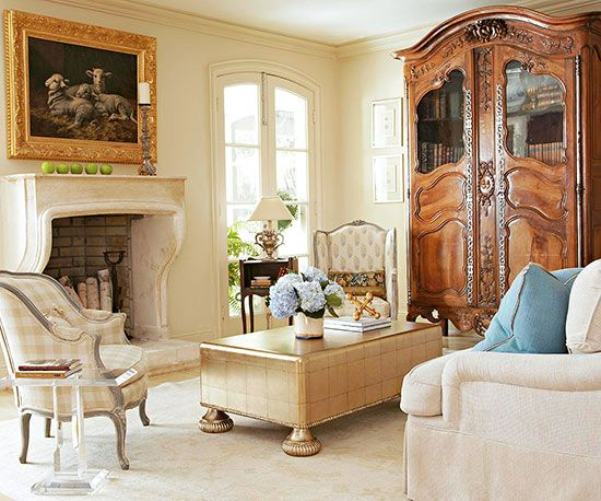 An Armoire Is A Signature Piece Of Furniture In Country French Decor, From  Stately Antique