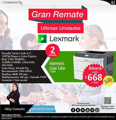 Gran Remate Lexmark!!!