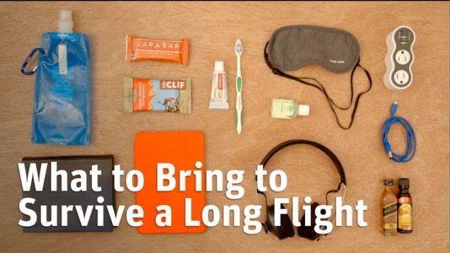 The Essential Items to Pack for a Long Flight