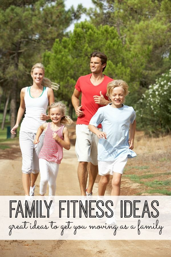 Beat the winter blues, and get the whole family moving with these family fitness ideas! Awesome ideas to get moving as a family!