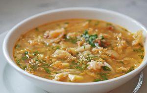 Sopa de Batata e Lentilhas Verdes