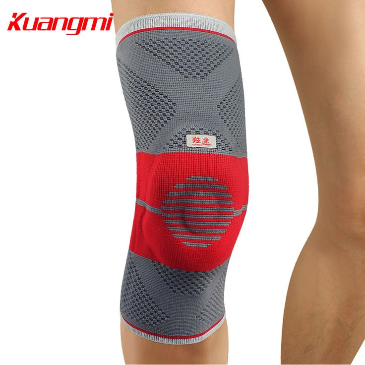 Kuangmi Silicone Pad Knee Pad Knee Brace Sports Compression Sleeve Support Knee Protector Leg Guard Running Joint Pain Relief pressure ulcer <3 AliExpress Affiliate's Pin.  Clicking on the image will lead you to find similar product on AliExpress website