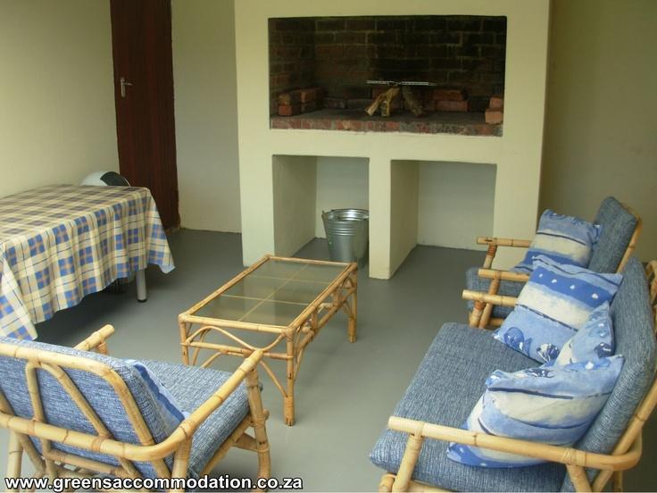 Indoor Braai (Outside Room)