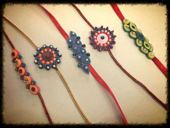 Quilled Bracelets maybe? - By paper roses