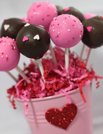 Cake Pop for Valentines