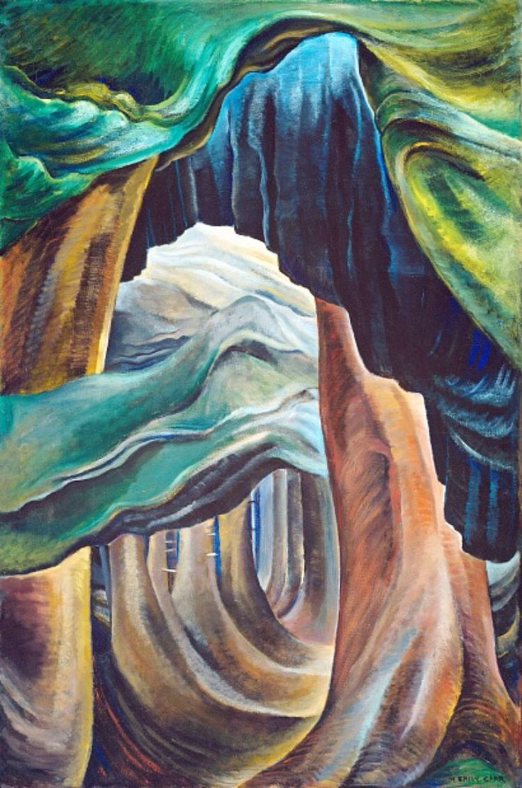 Forest, British Columbia, by Emily Carr