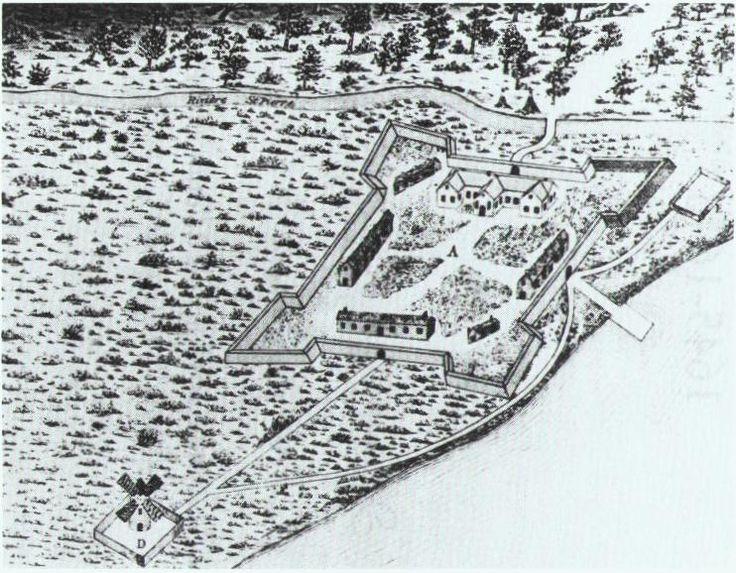 Fort Montréal 1645