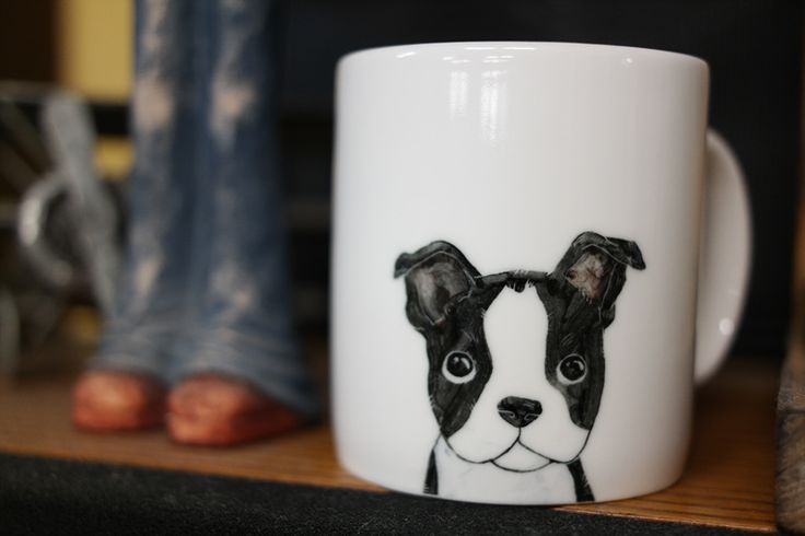This is handmade mug cup of only one in the world. If you are loved animal, it is best present for you and your friends.  This painting is never eraser and forever with you. Every detail was hand painted by me with high quality ceramic paint. No decals or image transfers were used. Safe for dishwasher and microwave.  9oz mug - 305ml 1250° C fired https://www.etsy.com/shop/CreativeStoneCera