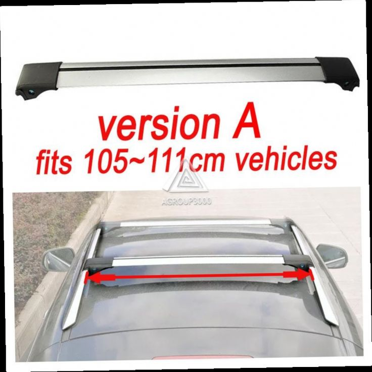 88.19$  Watch here - http://alie77.worldwells.pw/go.php?t=32627393198 - 2xUniversal 93~111cm Car Roof RackCross Bar for Jeep Auto SUV Offroad with Anti-theft Lock Load 150LBS Top Cargo Luggage Carrier