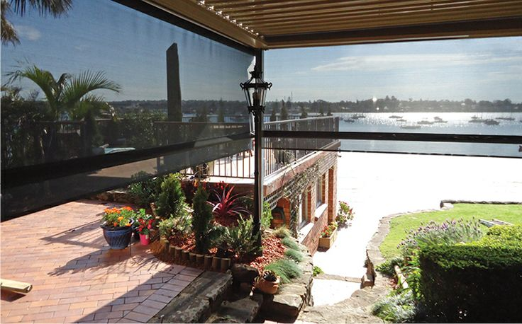 Australian Outdoor Living (Outdoor Cafe + Shade Blinds). Exhibitors at the 2014 Newcastle Home Show.