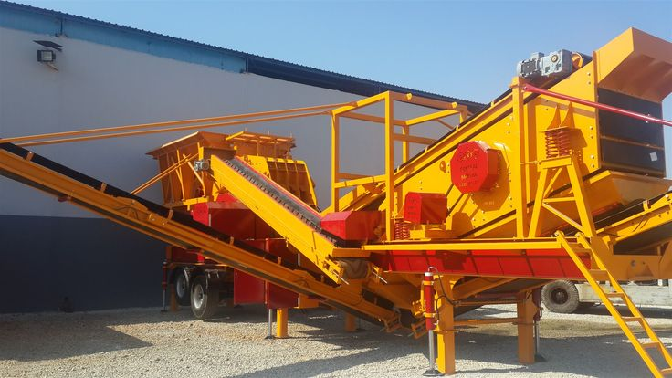 Sabit Kırma Eleme Tesisi 350 T/s Krom - General Makina | Konkasör,Beton Santrali ve Taş Kırma Eleme Tesisleri imalatı