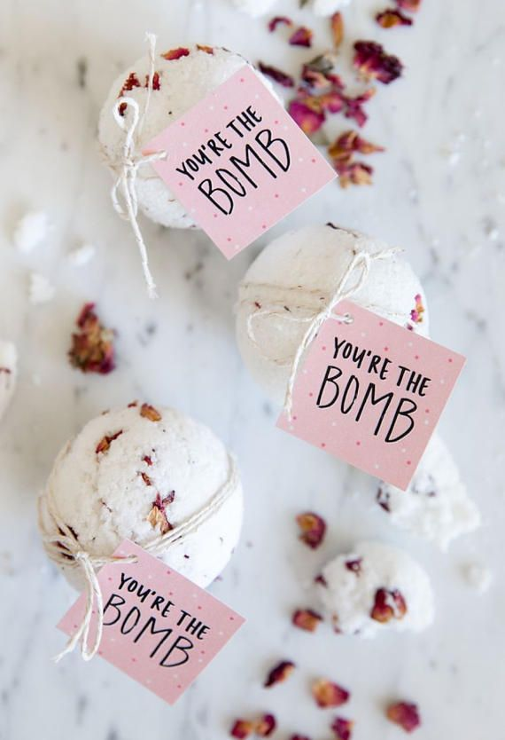 Bath Bomb favors spa party favors diva party ladies night (Valentins Day Party Favors)