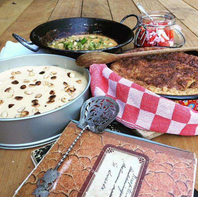 Weer druk aan de slag geweest met de foodstyling voor het boek. Met dank aan Mirjam Letsch!