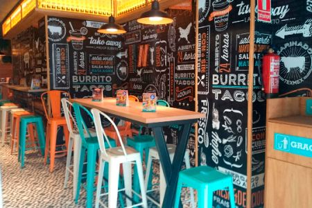 restaurante mexicano decoracion - Buscar con Google