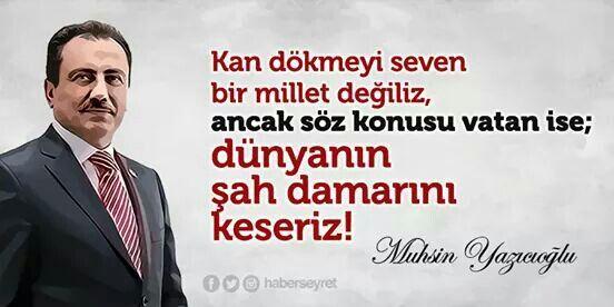 Evelallah o kadar!!!...Muhsin Yazıcıoğlu