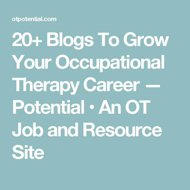 1214 best OT General\/Academia images on Pinterest Fine motor - occupational therapist job description