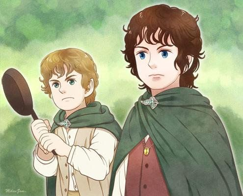 3578 best Lord of the rings and the Hobbit art Властелин ... Хоббит Ори