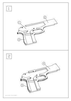 M9 rubber band gun                                                       …