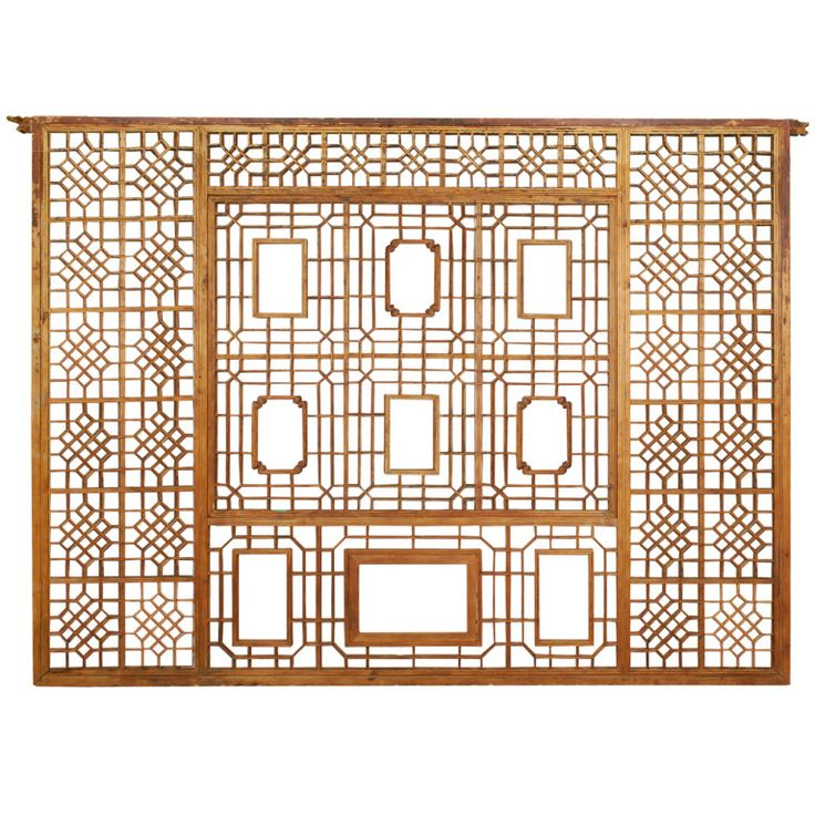32 best images about chinese window screens on pinterest for Lattice screen