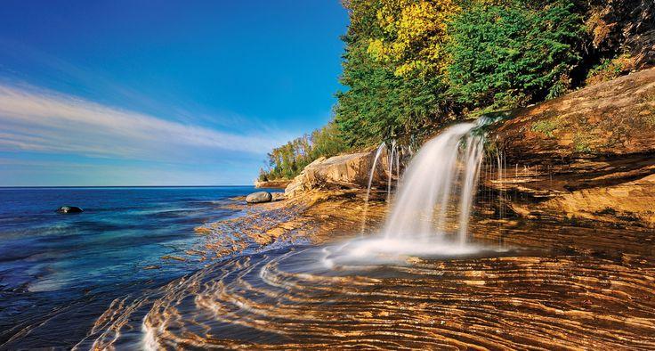 Miner's Beach  (In Michigan's Upper Peninsula)