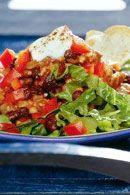 Healthy Lunch Recipes: Nacho Salad. #HealthyRecipes #DietRecipes #WeightlossRecipes weightloss.com.au
