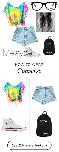 """""""Dude."""" by melaynebruce on Polyvore featuring Muse and Converse"""