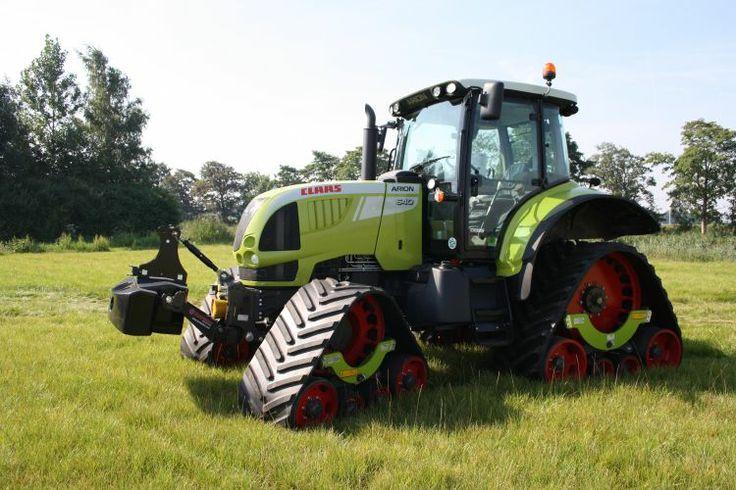 Tracteur agricole Claas Arion 640 chenilles caoutchouc Zuidberg Tracks