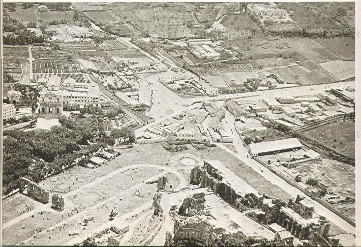 Panoramica dall'alto Palatino e Circo Massimo 1895