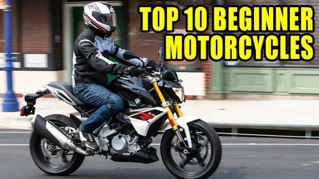 Top 10 Beginner Bikes Of 2018 Video Beginner Motorcycle