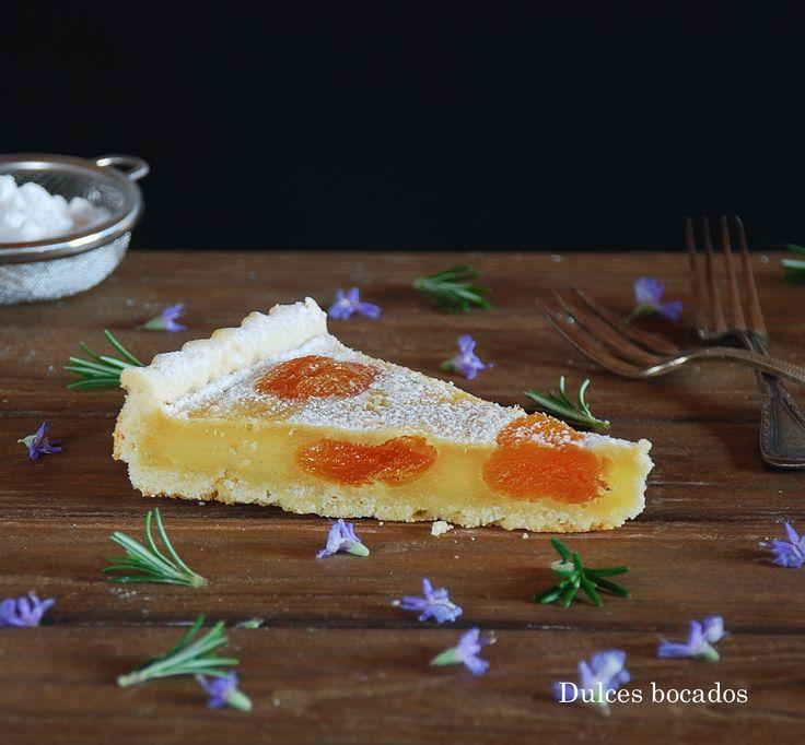 Apricot tart - Tarta de orejones (albaricoques secos)