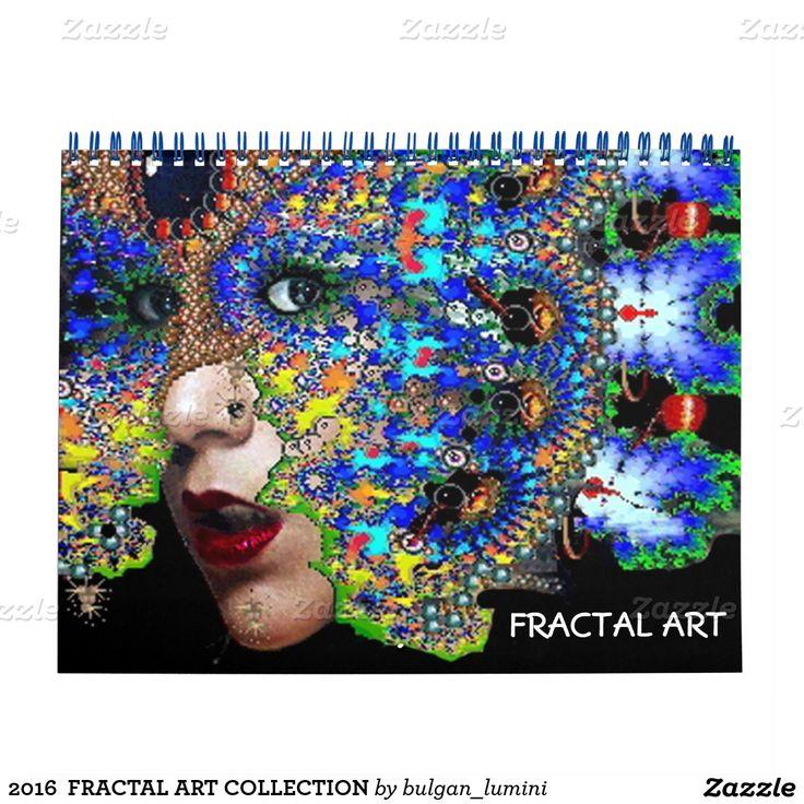 2016  FRACTAL ART COLLECTION CALENDAR