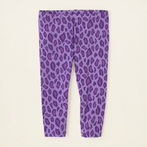 girl - bottoms - leopard print leggings - capri | Children's Clothing | Kids Clothes | The Children's Place